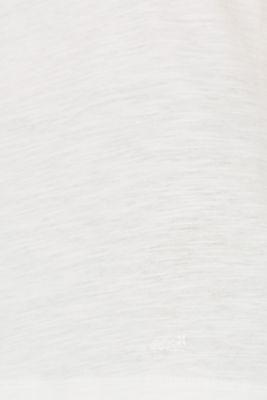 Slub T-shirt with organic cotton, 100% cotton