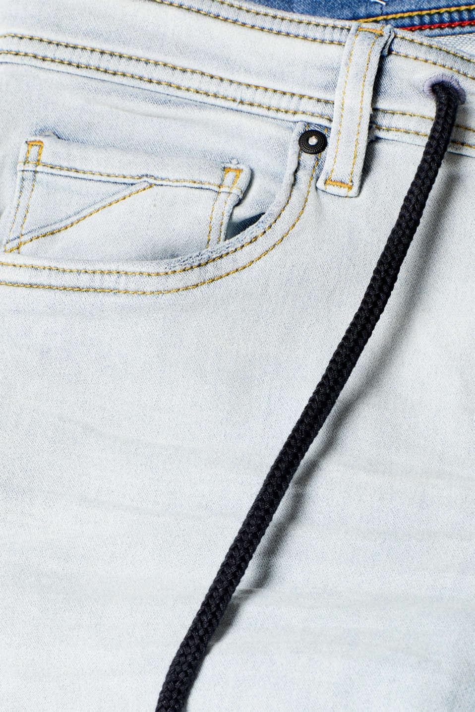 Shorts denim, BLUE BLEACHED, detail image number 4