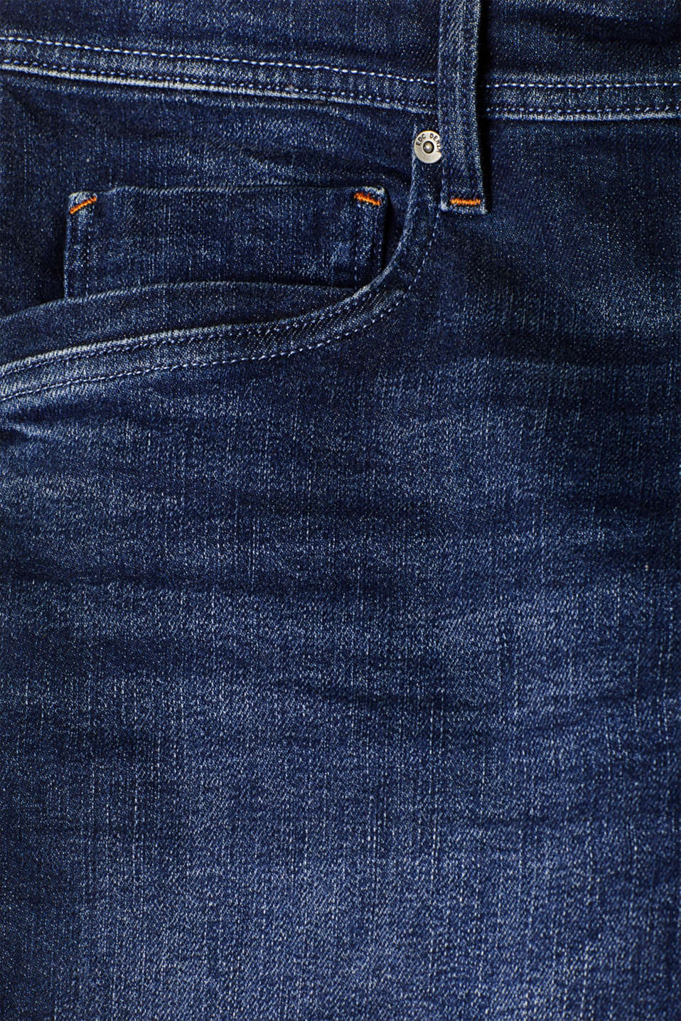 Shorts denim, BLUE DARK WASH, detail image number 4