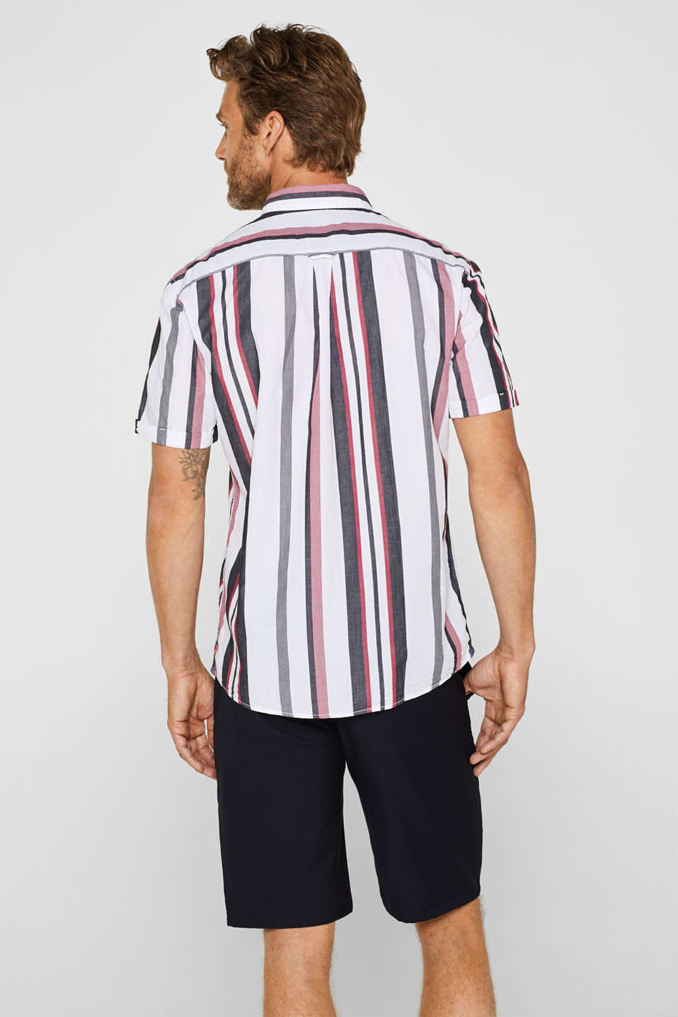 Shirts woven Regular fit, WHITE, detail image number 3