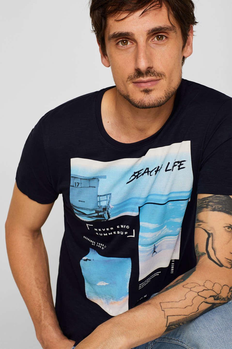 T-Shirts, NAVY, detail image number 5