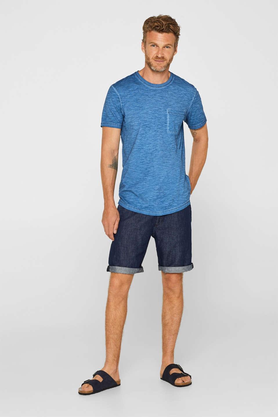T-Shirts, BLUE, detail image number 2