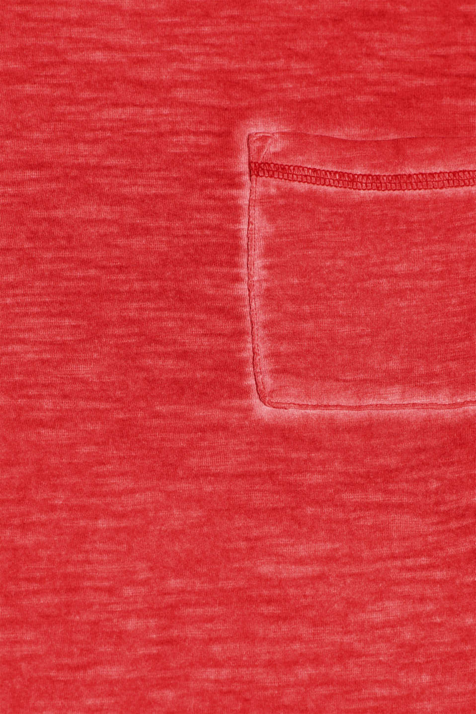 T-Shirts, RED, detail image number 4