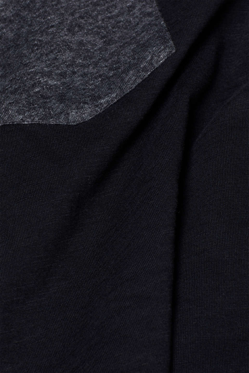 Jersey T-shirt in 100% cotton, BLACK, detail image number 4