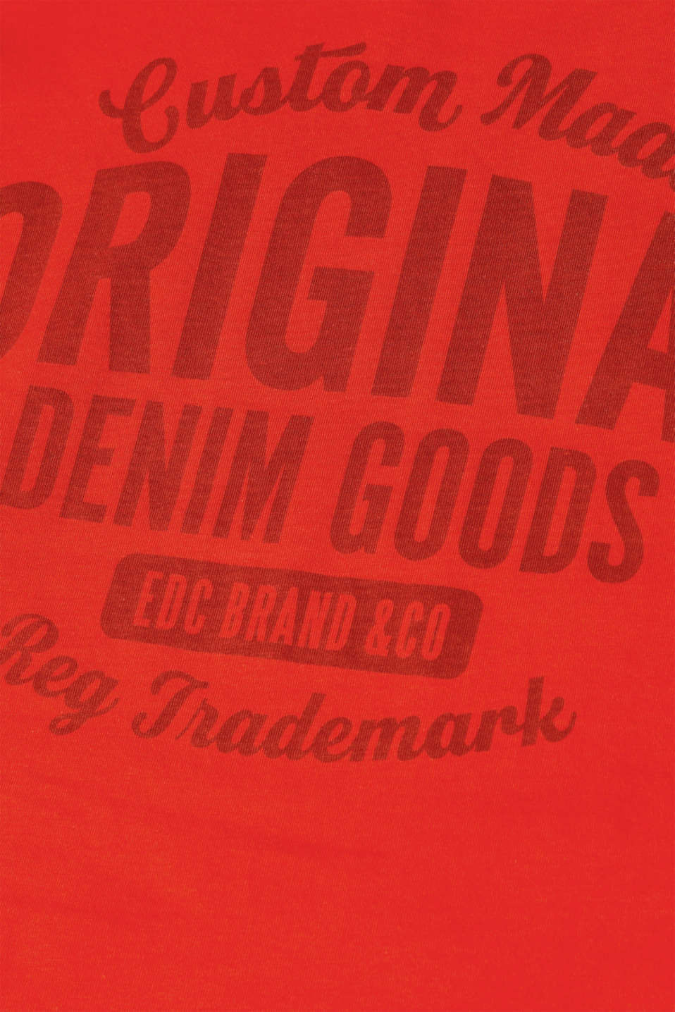 T-Shirts, RED, detail image number 5