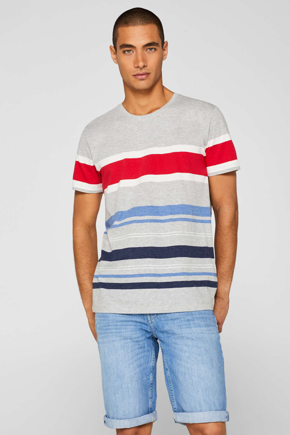 edc - Striped jersey T-shirt