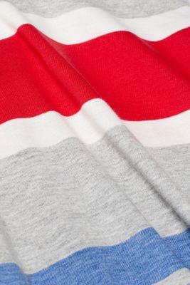 Striped jersey T-shirt, MEDIUM GREY, detail