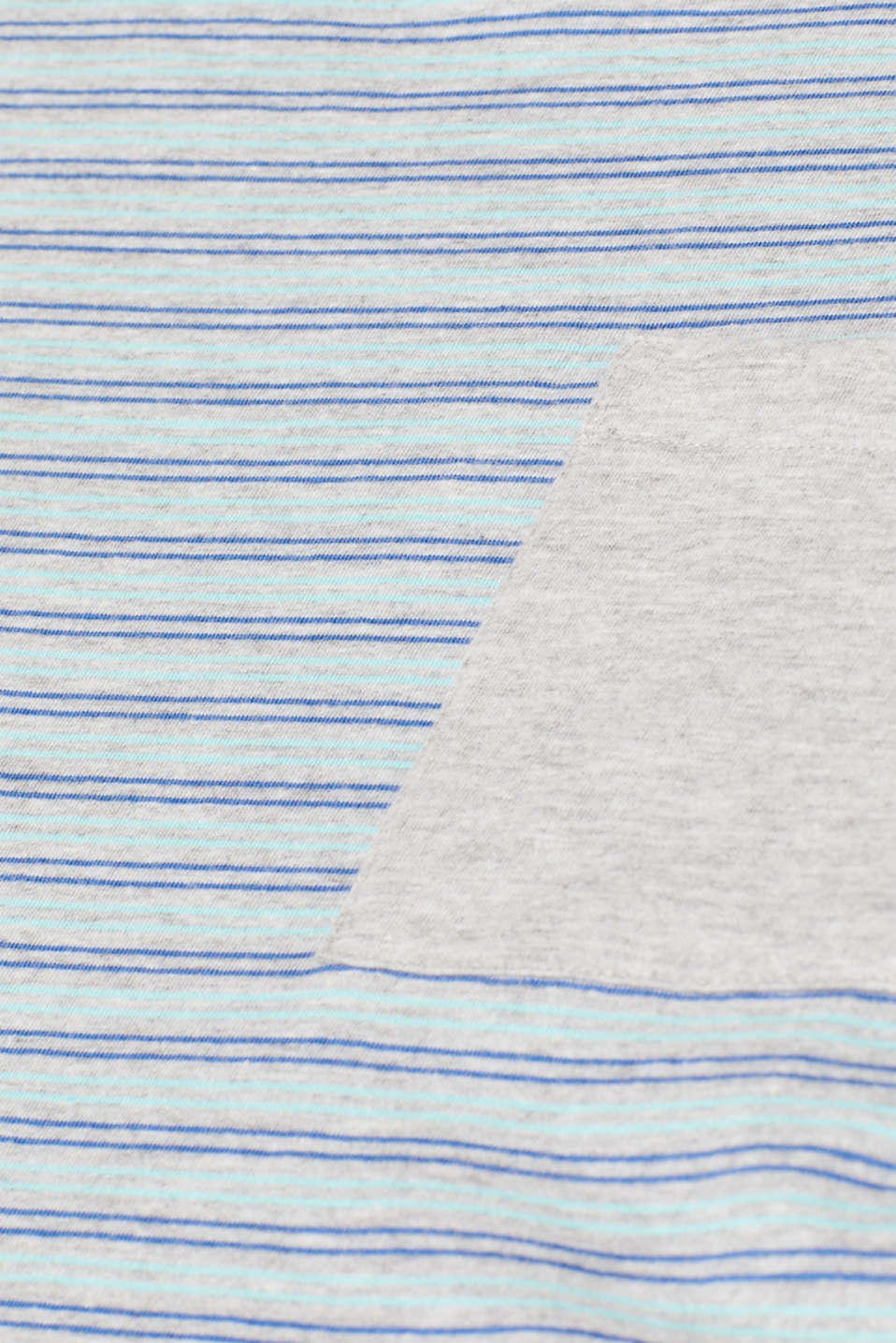 Striped jersey T-shirt, MEDIUM GREY, detail image number 4