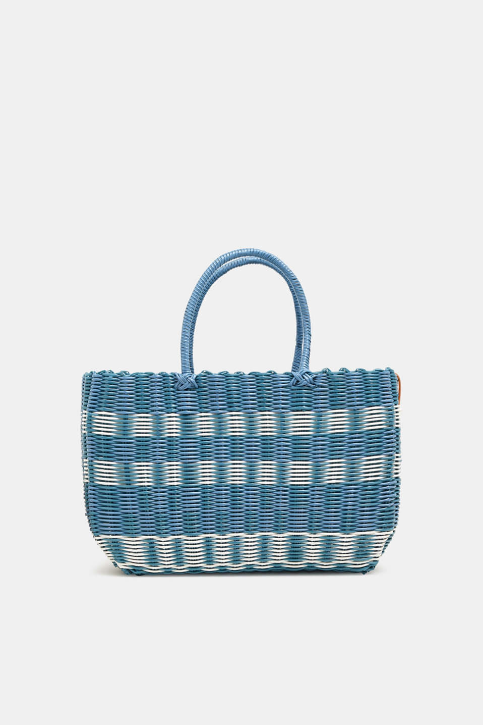 Esprit - Braided straw bag in vibrant colours