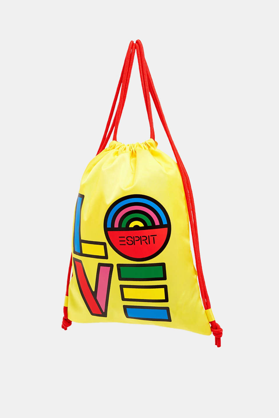 Esprit - CRAIG & KARL: gym bag con stampa Love