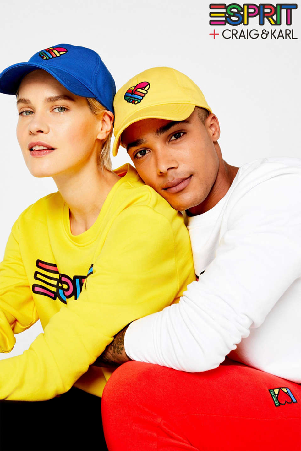 CRAIG & KARL: 100% cotton baseball cap, BRIGHT BLUE, detail image number 2
