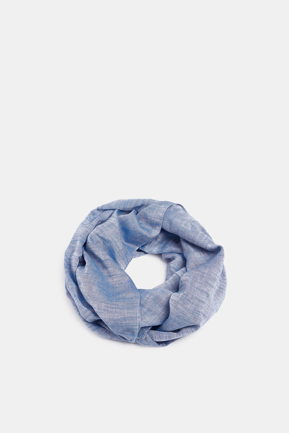 Esprit - Snood in a melange finish, 100% cotton