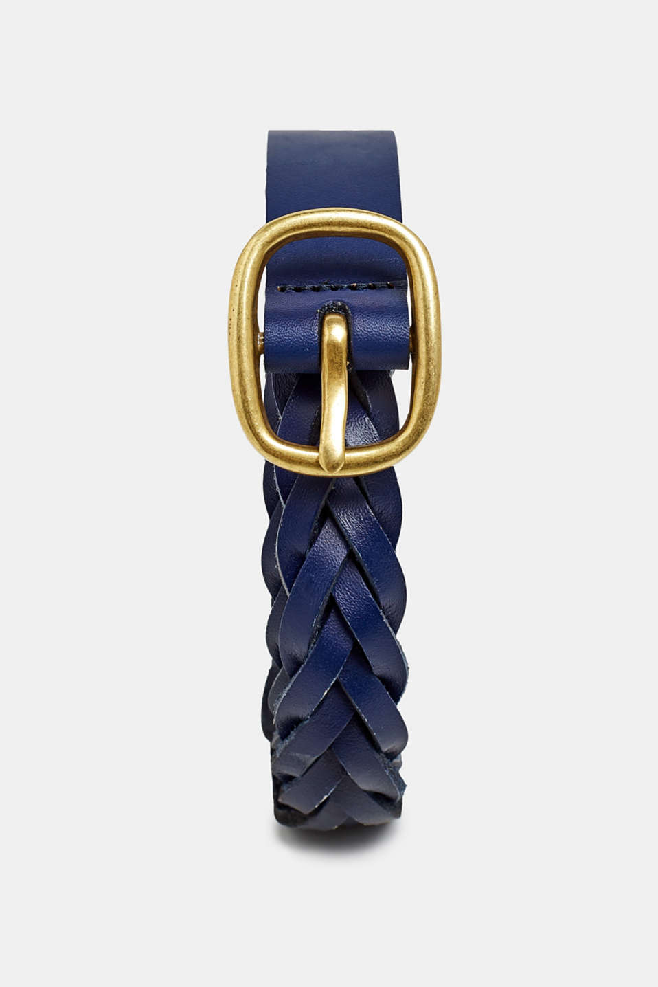 Esprit - Braided leather belt