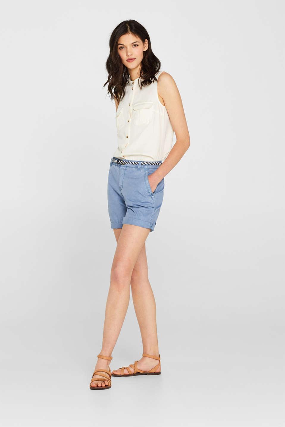 Shorts woven, LIGHT BLUE, detail image number 0