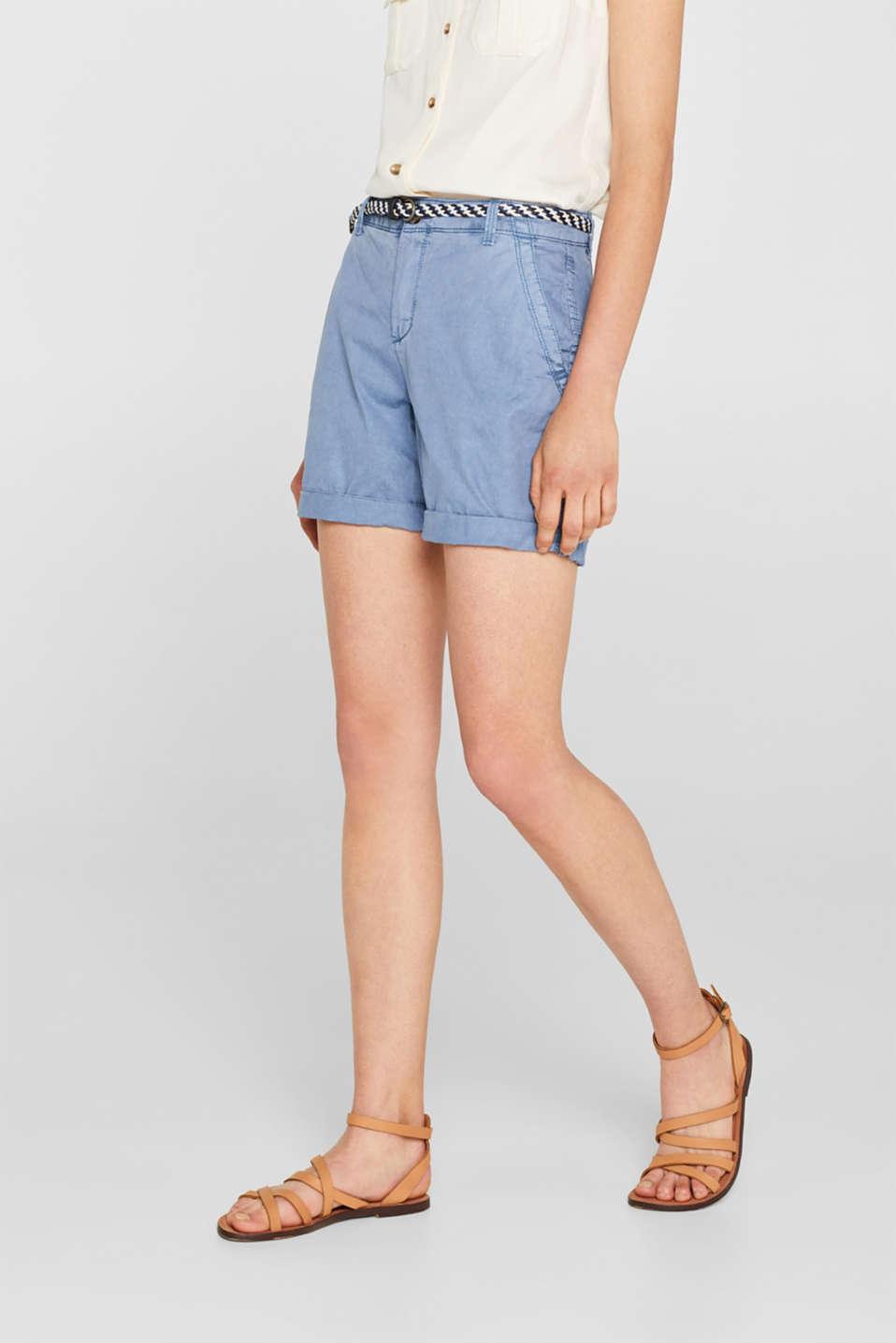 Shorts woven, LIGHT BLUE, detail image number 6