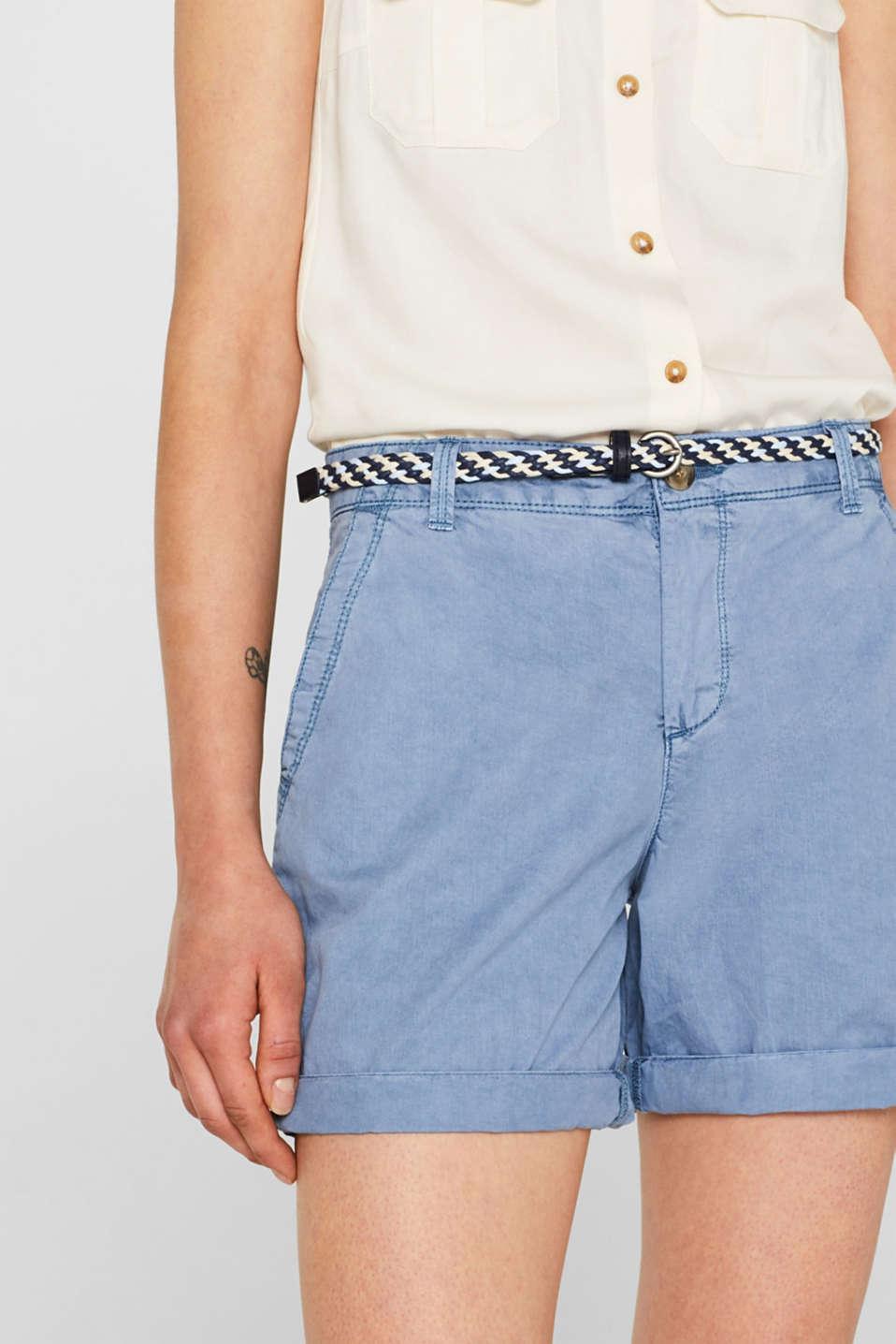 Shorts woven, LIGHT BLUE, detail image number 2