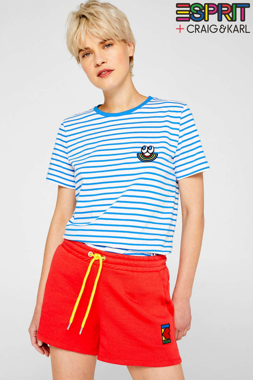Esprit - CRAIG & KARL: women sweatshort, organic cotton