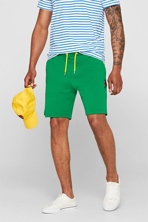 CRAIG & KARL: Men sweatshirt fabric shorts, organic cotton