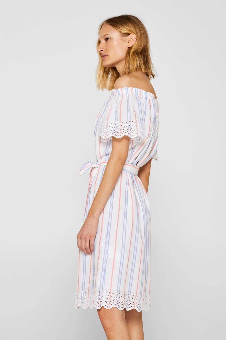 Dresses light woven, OFF WHITE, detail image number 5