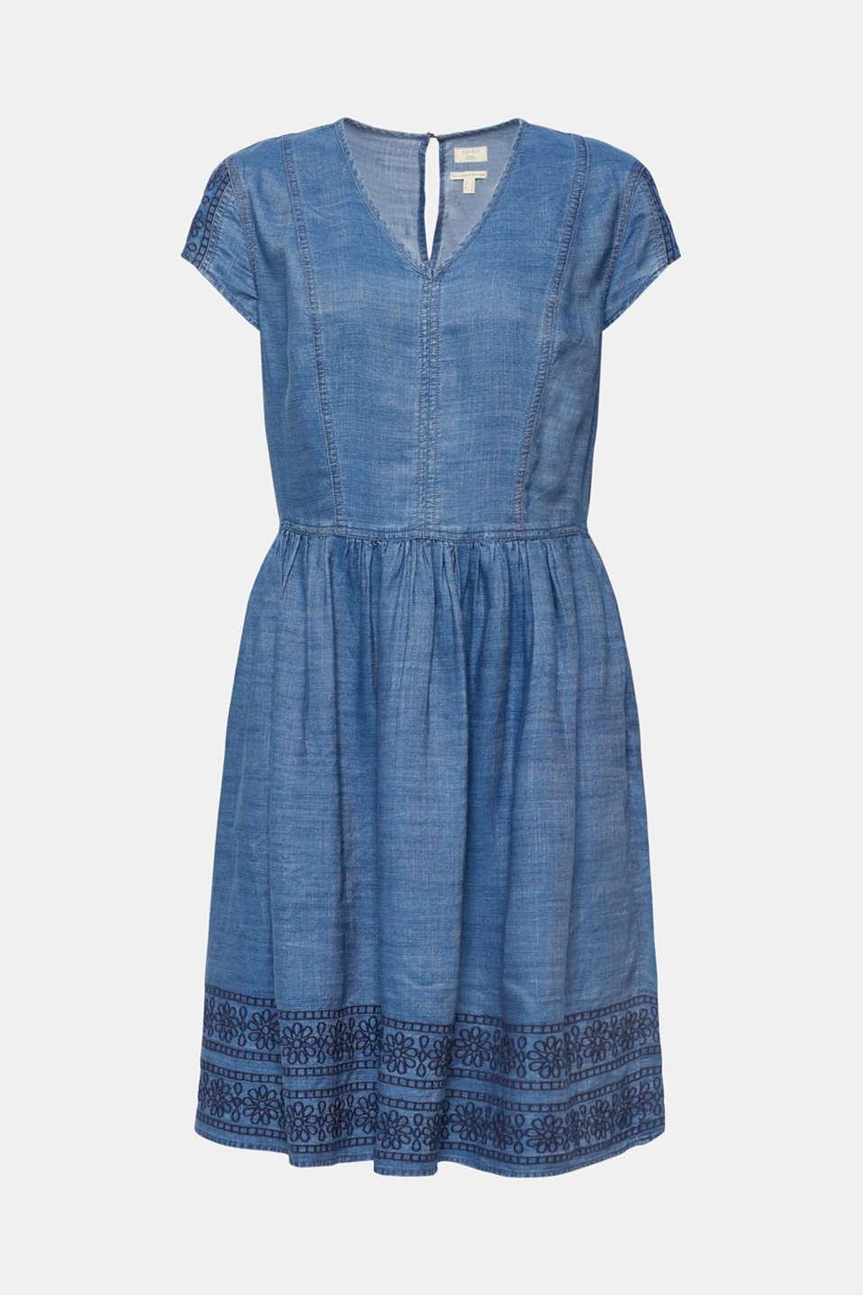 Dresses denim, BLUE MEDIUM WASH, detail image number 7