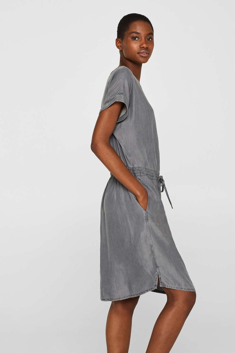 Dresses denim, GREY MEDIUM WASH, detail image number 5
