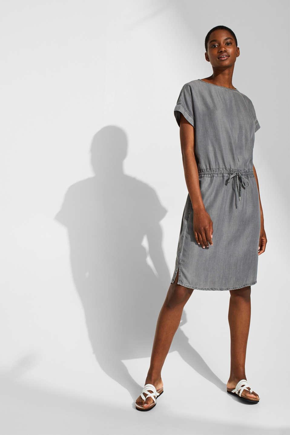 Dresses denim, GREY MEDIUM WASH, detail image number 1