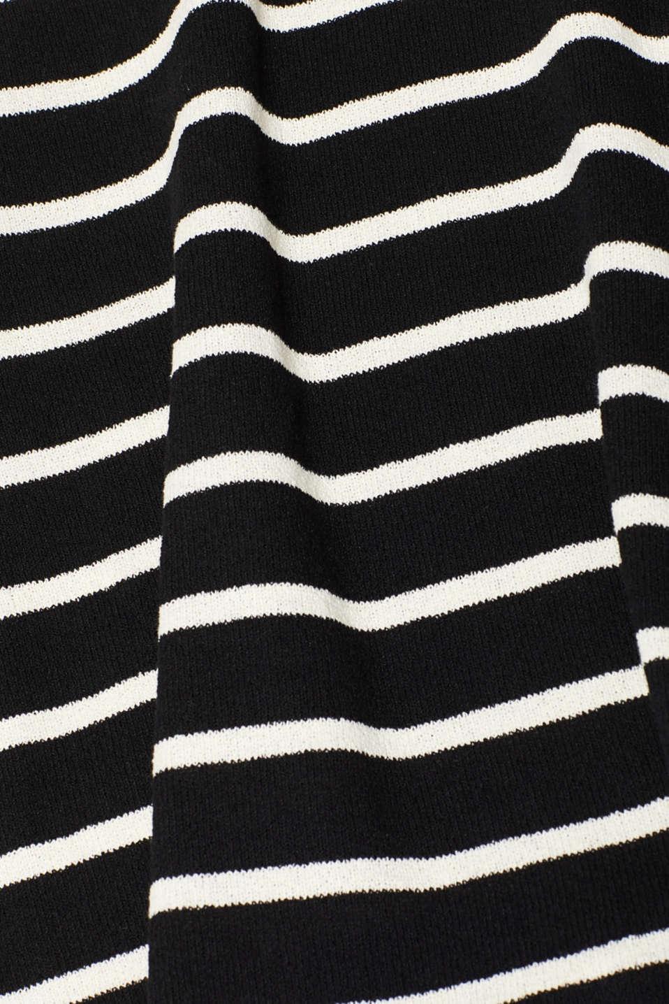 Dresses knitted, BLACK, detail image number 4