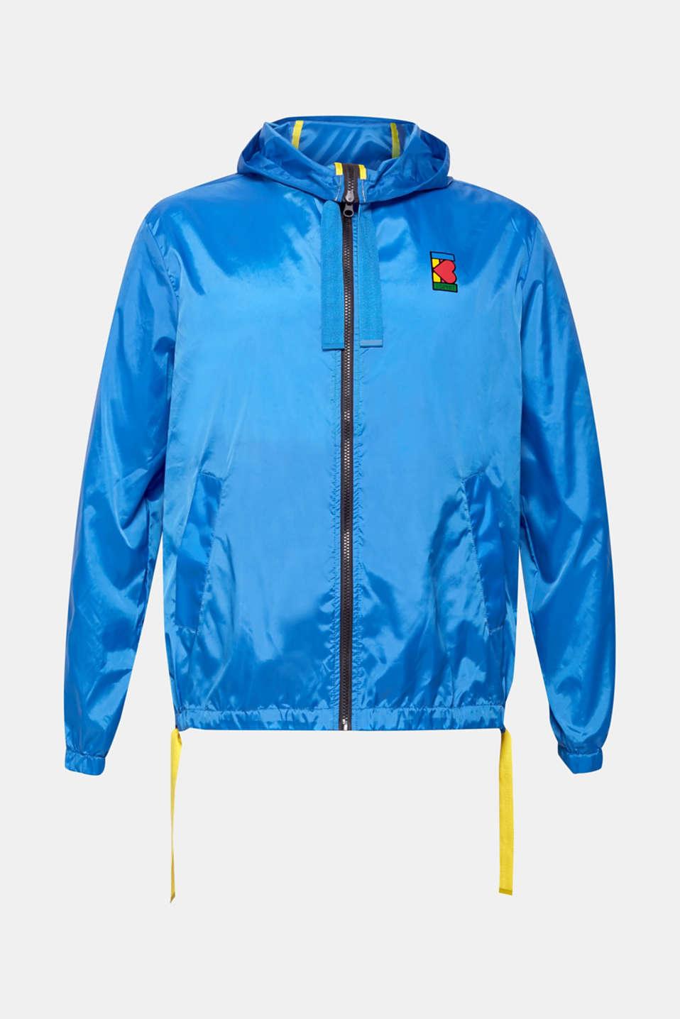 Jackets indoor knitted, BLUE, detail image number 7