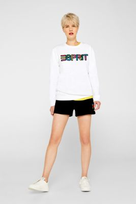 CRAIG & KARL: cotton sweatshirt, WHITE, detail