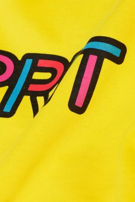 CRAIG & KARL: cotton sweatshirt, YELLOW, detail