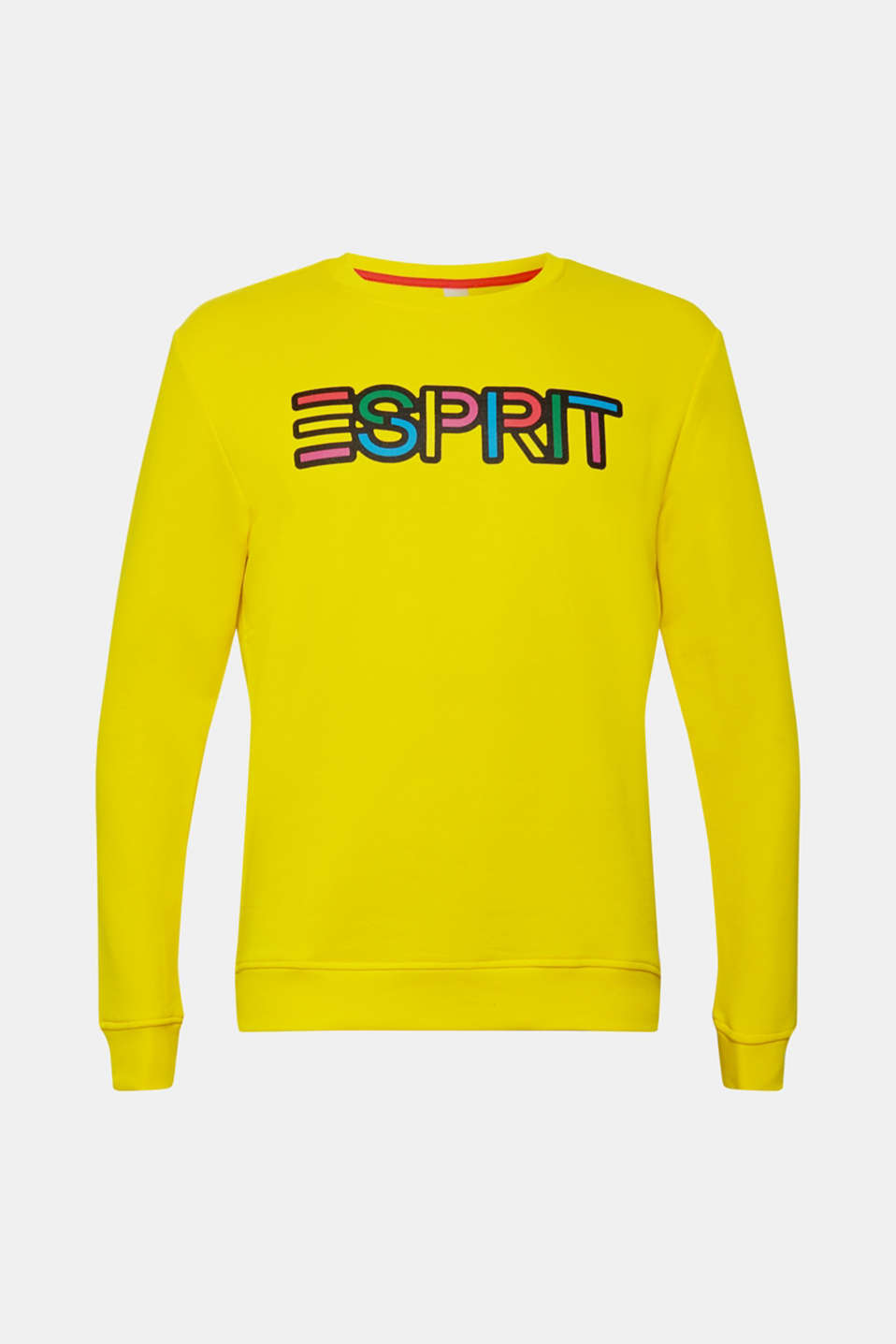 CRAIG & KARL: cotton sweatshirt, YELLOW, detail image number 5