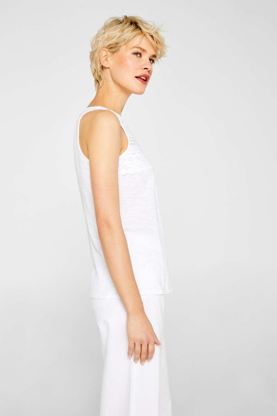 T-Shirts, WHITE, detail image number 5