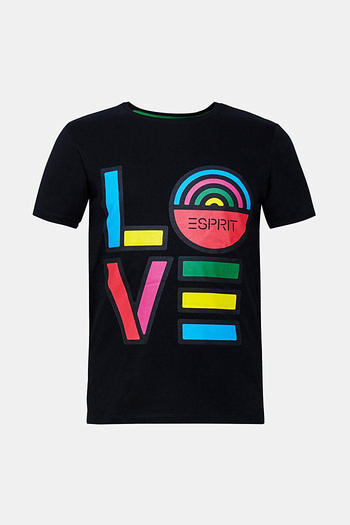 CRAIG & KARL: love T-shirt, 100% organic cotton, BLACK, detail image number 0