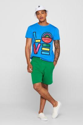 CRAIG & KARL: Love T-shirt, 100% organic cotton, BLUE, detail