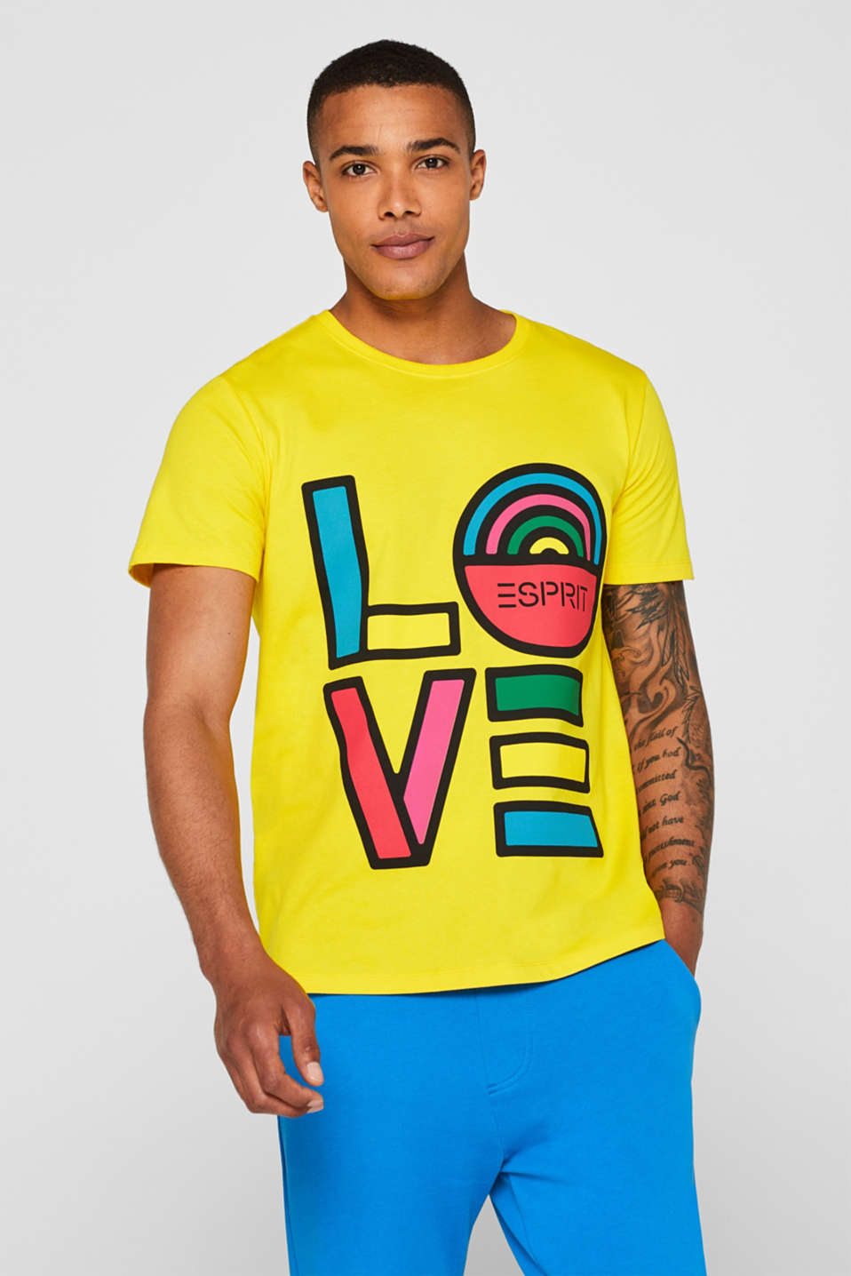 T-Shirts, YELLOW, detail image number 0