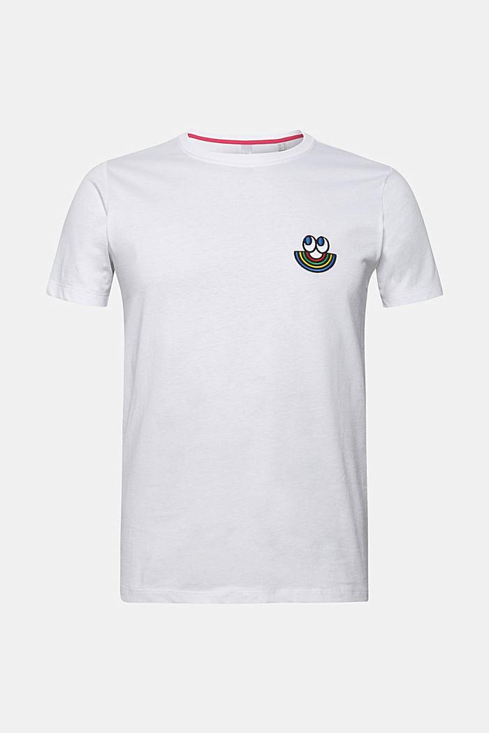 CRAIG & KARL: love T-shirt, 100% organic cotton, WHITE, detail image number 0