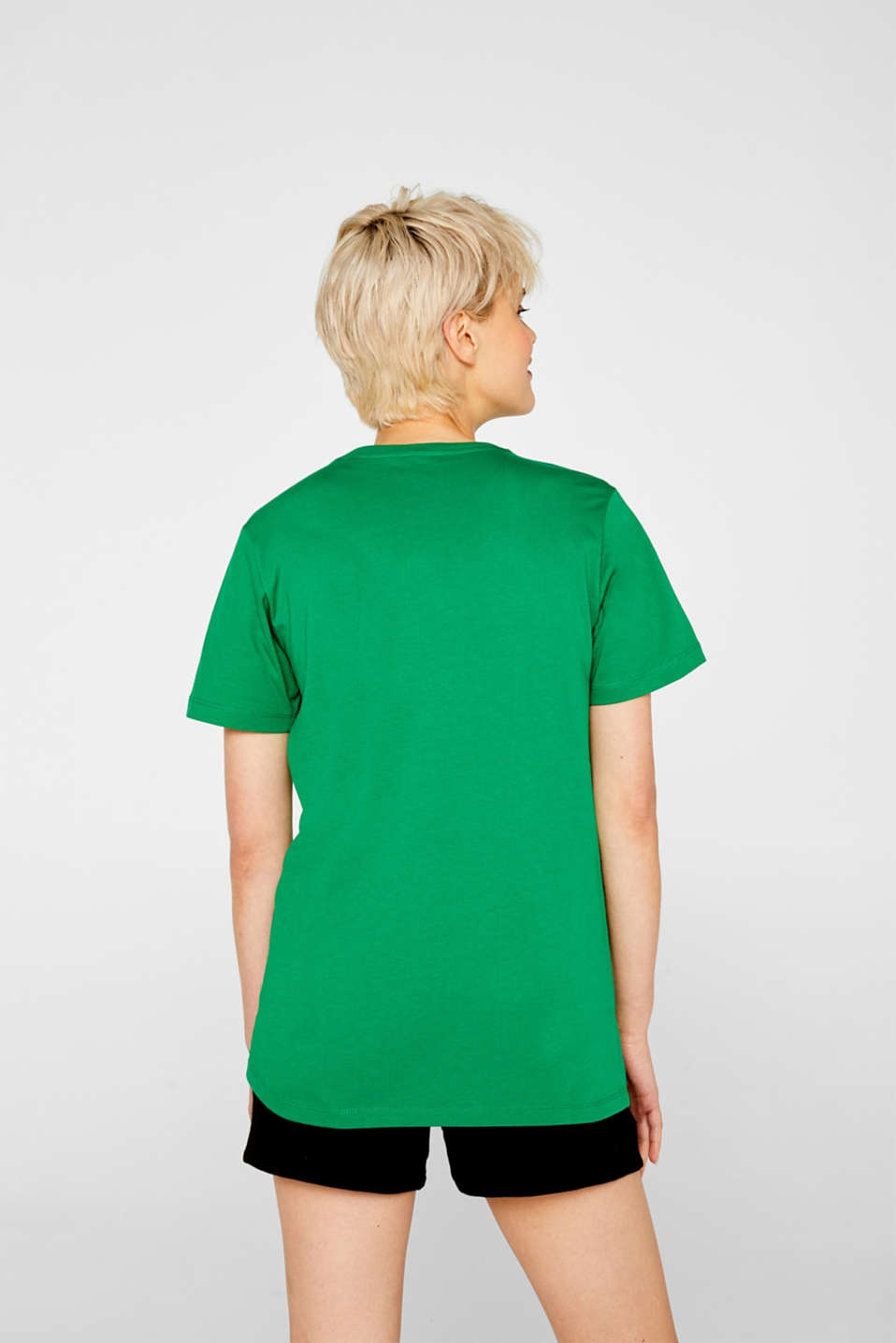 T-Shirts, GREEN, detail image number 3