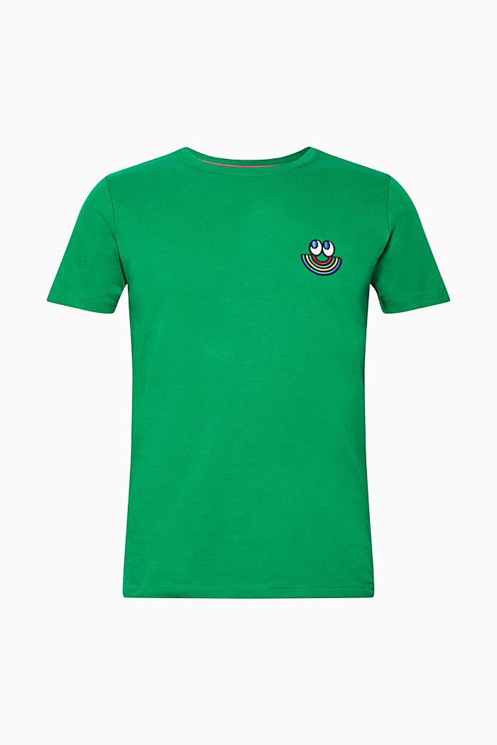 CRAIG & KARL: Love T-shirt, 100% organic cotton, GREEN, detail image number 0