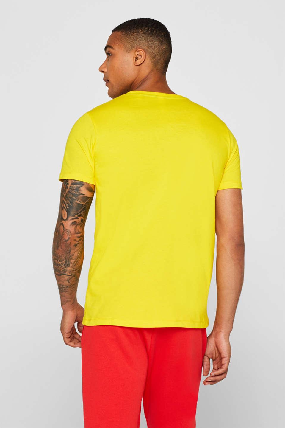 CRAIG & KARL: Love T-shirt, 100% organic cotton, YELLOW, detail image number 3