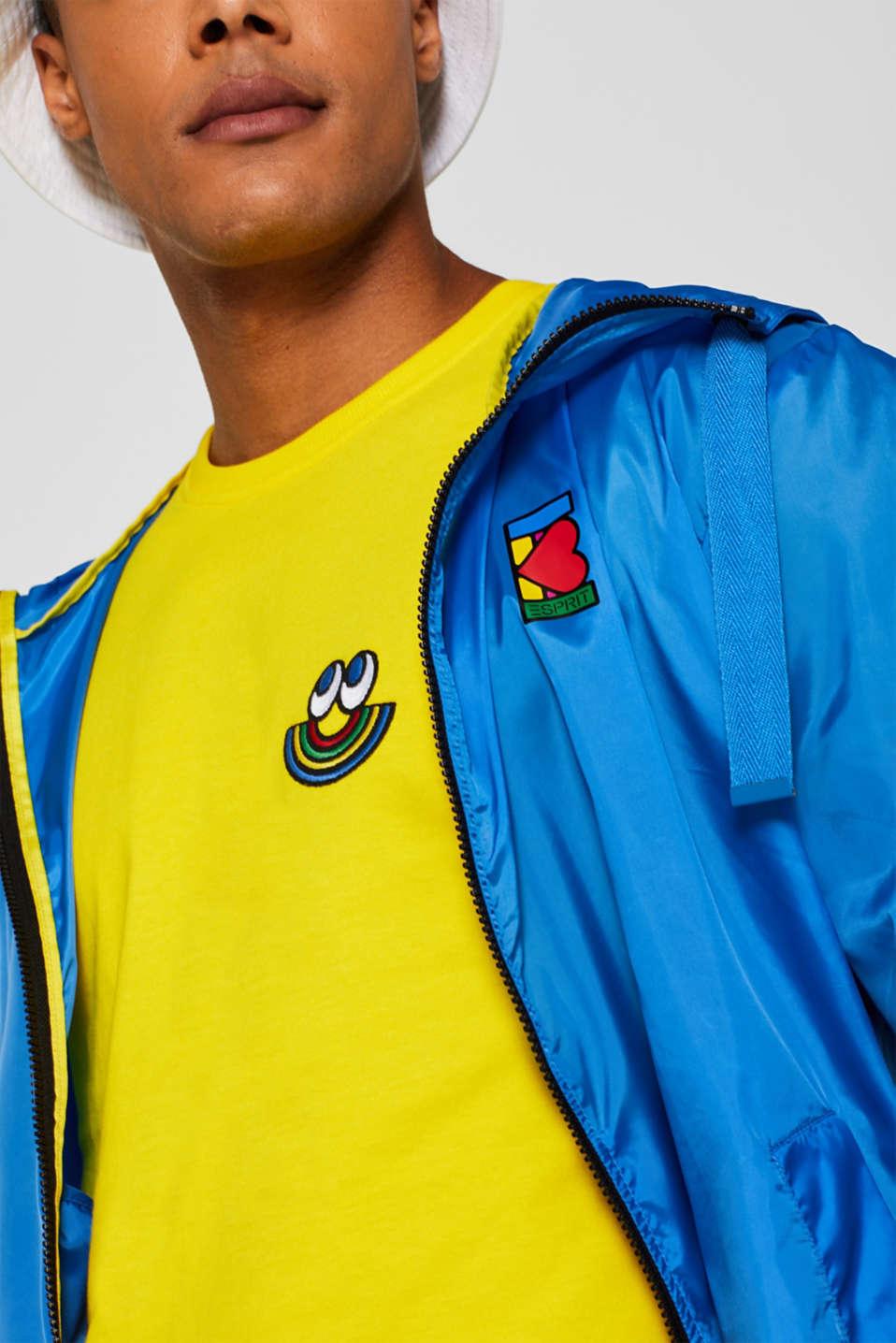 CRAIG & KARL: Love T-shirt, 100% organic cotton, YELLOW, detail image number 2