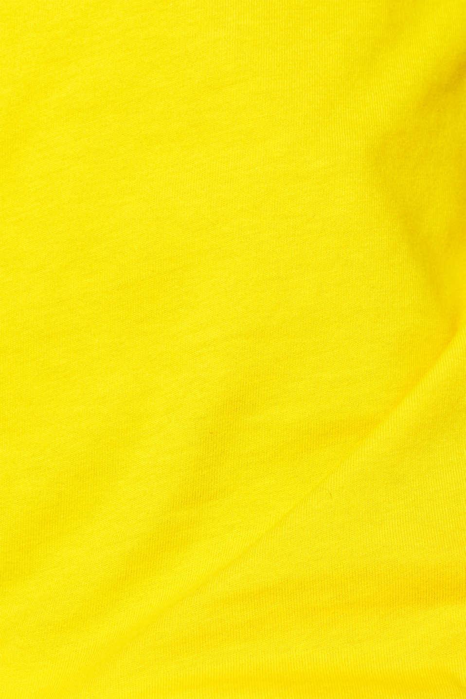 CRAIG & KARL: Love T-shirt, 100% organic cotton, YELLOW, detail image number 4