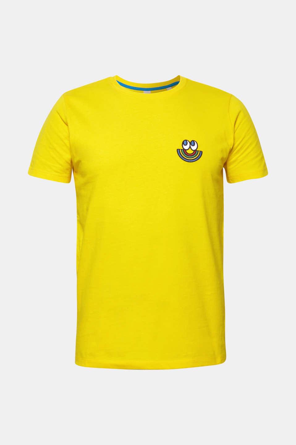 CRAIG & KARL: Love T-shirt, 100% organic cotton, YELLOW, detail image number 5