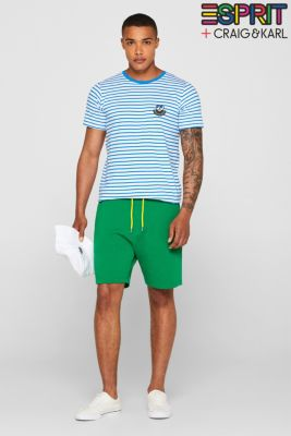 CRAIG & KARL: Unisex T-shirt, 100% organic cotton, BLUE, detail