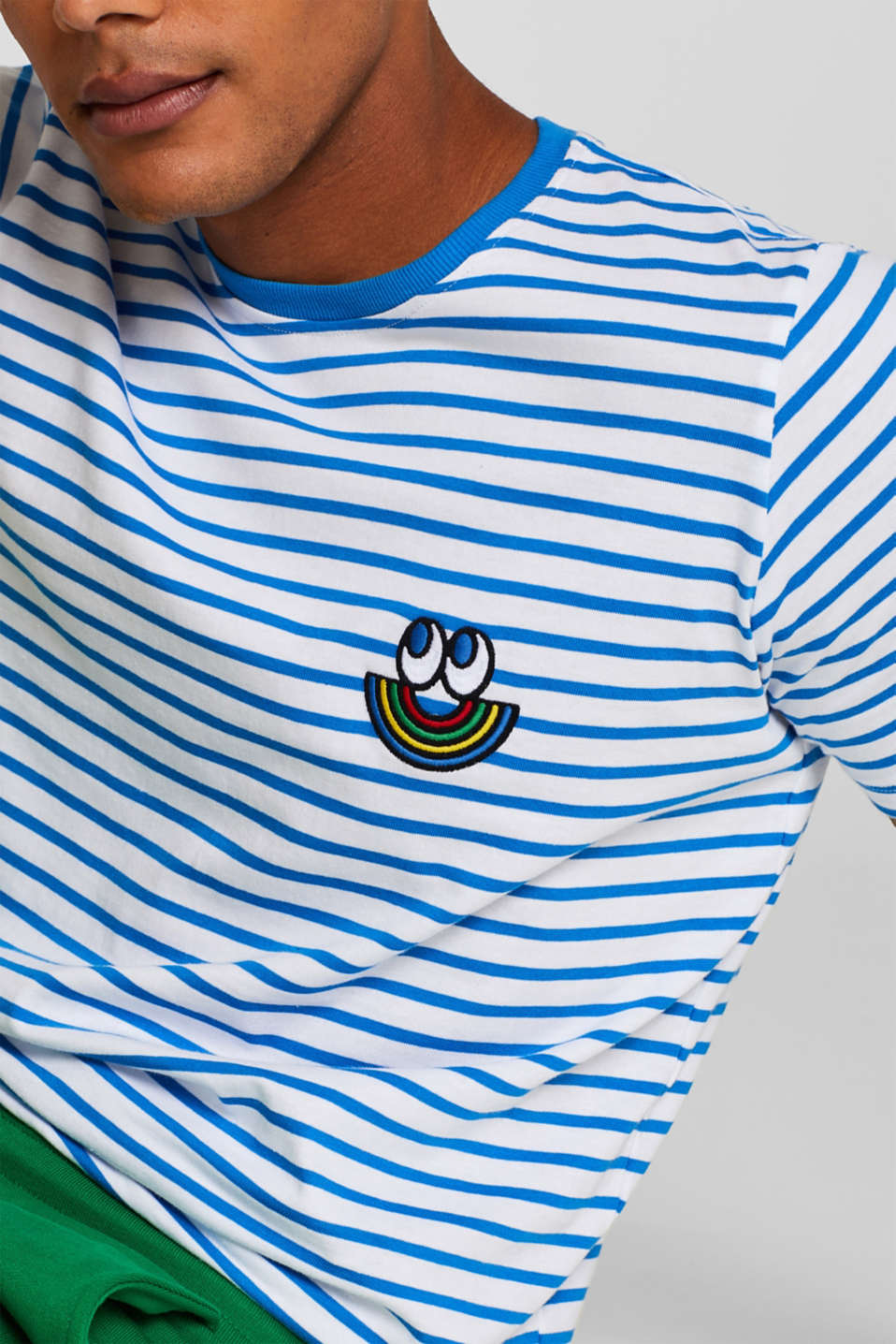 CRAIG & KARL: Unisex T-shirt, 100% organic cotton, BLUE, detail image number 2