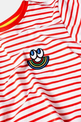 CRAIG & KARL: Unisex T-shirt, 100% organic cotton, RED, detail