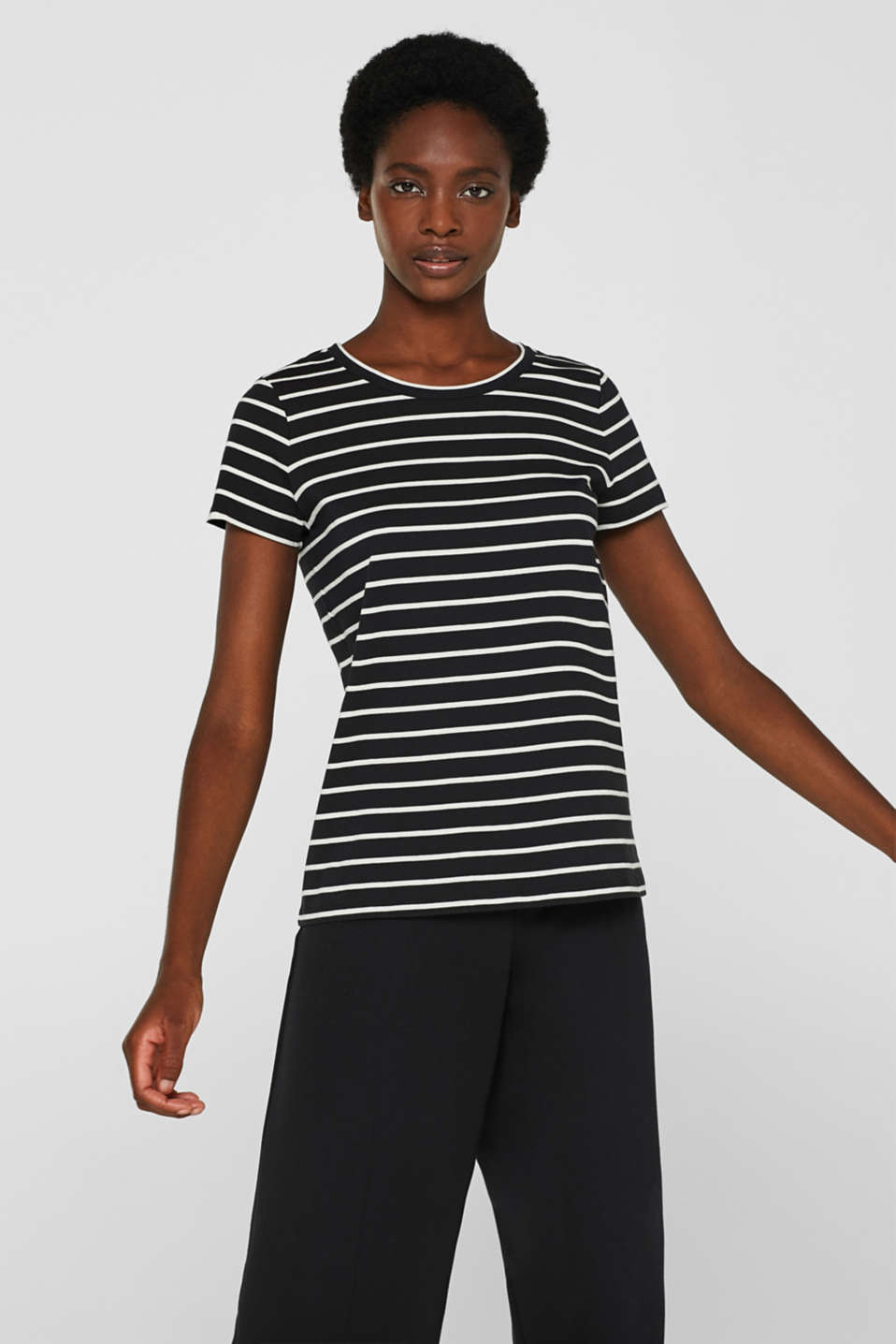 Striped top with organic cotton, 100% cotton