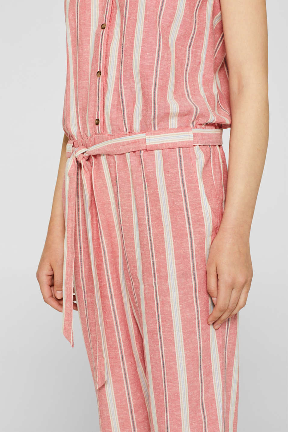 Overalls woven, CORAL RED, detail image number 2