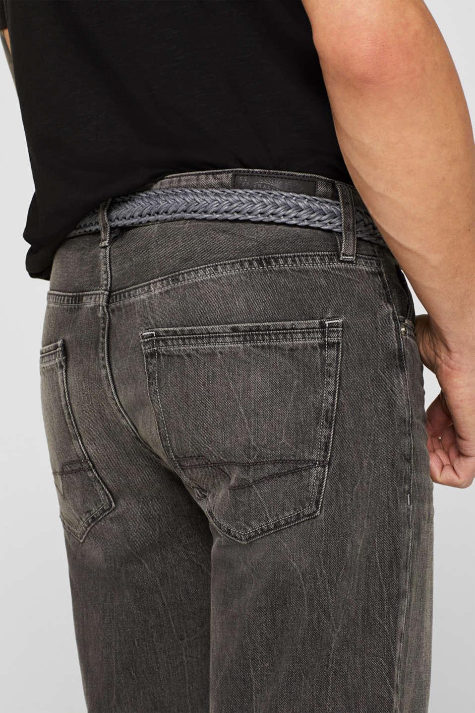 Shorts denim, GREY MEDIUM WASH, detail image number 2