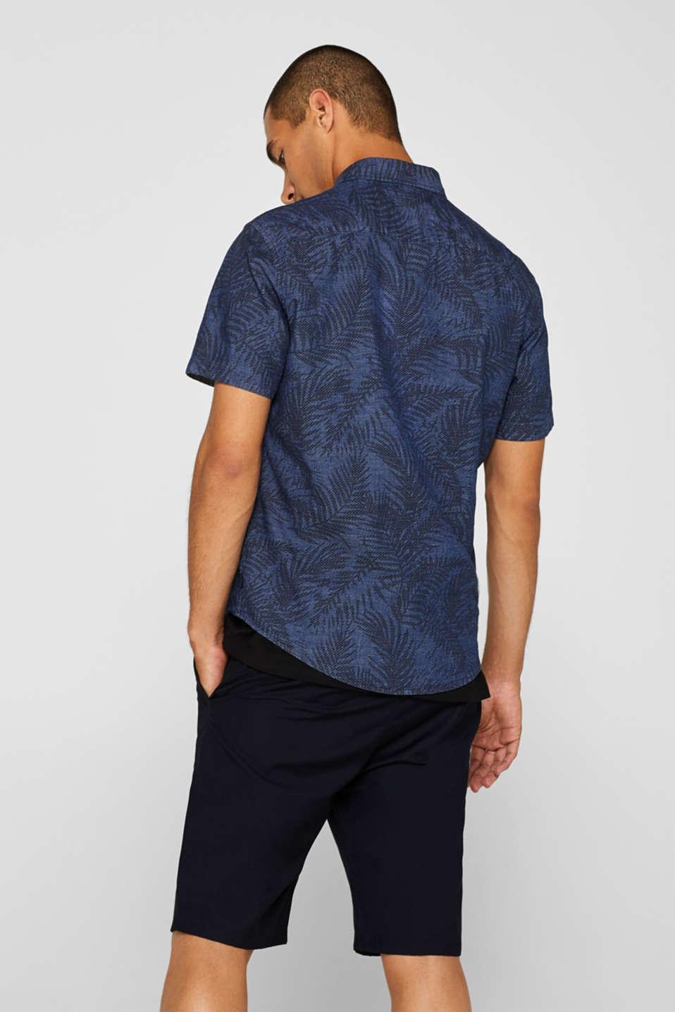 Shirts woven Regular fit, BLUE DARK WASH, detail image number 3