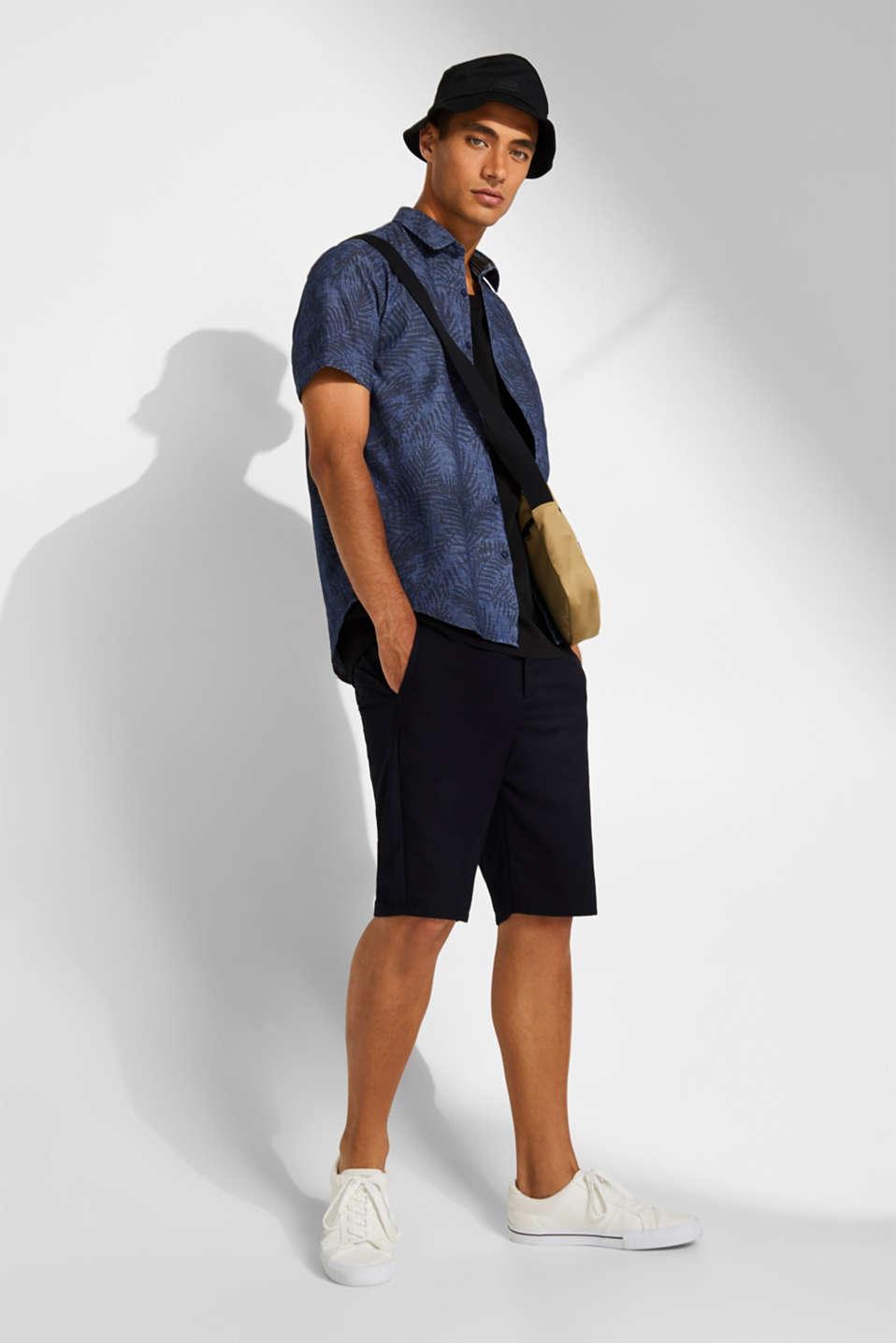 Shirts woven Regular fit, BLUE DARK WASH, detail image number 1